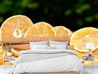Orangen mit Zimt