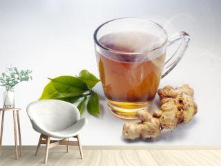 hot gingger tea