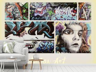 collage ...graffiti