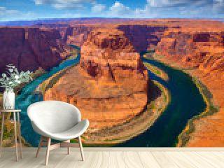 Arizona Horseshoe Bend meander of Colorado River