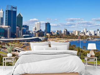 Perth skyline, west Australia