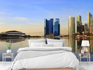 Singapore panorama city skyline