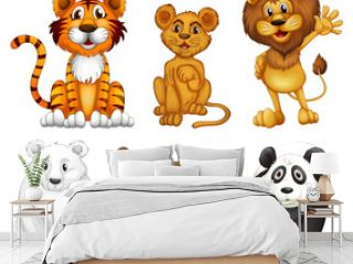 Six wild animals