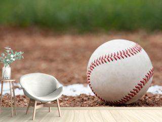 Close-up of a baseball