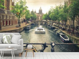 river in amsterdam