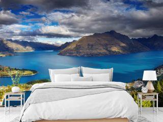 Wakatipu lake, New Zealand