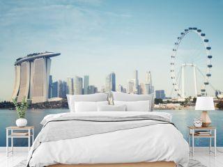 Singapore`s business district