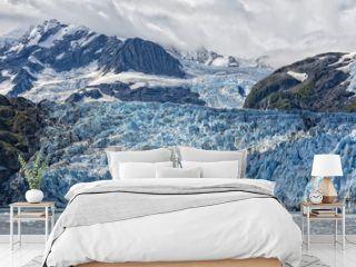 Harriman glacier in Alaska