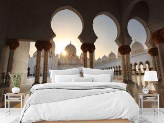Sheikh Zayed mosque in Abu Dhabi,UAE, Middle East