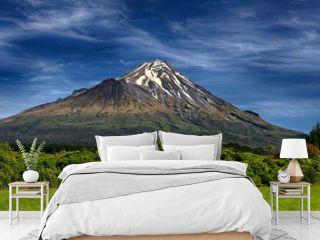 Volcano Taranaki, New Zealand - HDR panorama