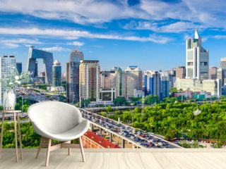 Beijing, China CBD Cityscape