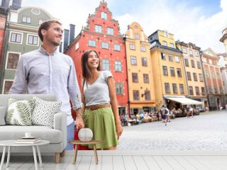 Couple in Stockholm, Sweden, Europe