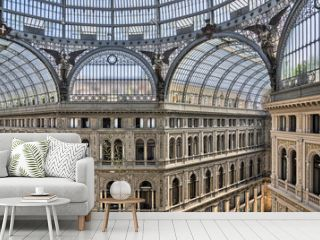 Galleria Umberto I, Naples. Italy