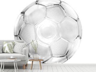 Glass soccer ball