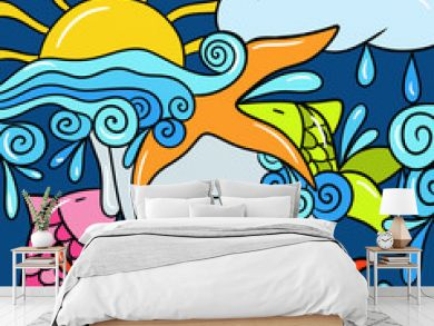 abstract marine