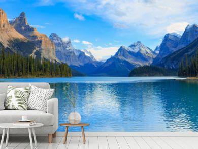 Maligne Lake view