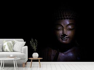 Buddha Face Low Key
