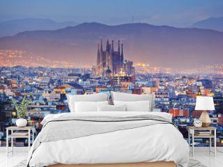 Barcelona in Spain