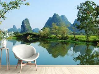 Karst landscape of Guilin,China