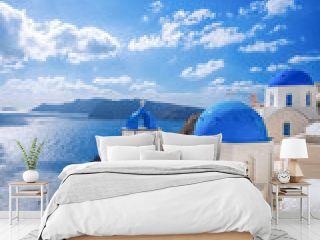 Oia village on Santorini island, Greece
