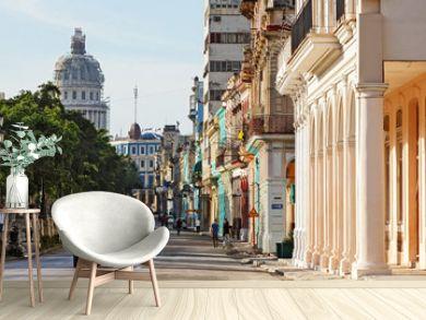 Cuba, La Habana, Paseo de Martí (Prado)