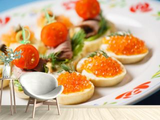 different canape