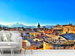 View of Palermo in HDR