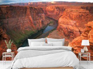 famous  view of Grand Canyon , Arizona