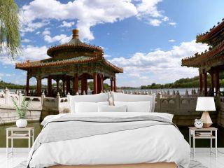 Five-Dragon Pavilions in Beihai Park
