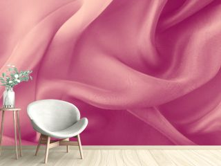 abstract pink fabric folds