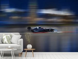 Formula 2.0 races down the streets