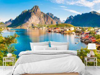 Lofoten islands landscape in Norway