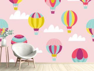 Hot air ballon pattern