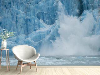 Icefall, Dawes Glacier, Alaska