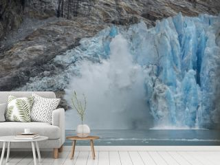 Ice Calving, Dawes Glacier, Alaska