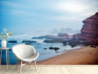 Legzira beach in the morning