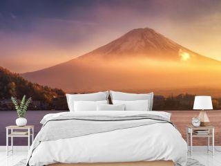 Panoramic view of Mt.Fuji