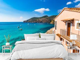 Beautiful Sea View of idyllic Bay at Mediterranean Sea