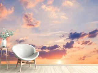 sunset sky panorama - scenic sky