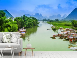 Guilin Lijiang landscape scenery