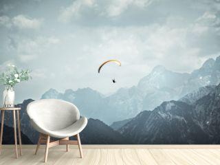 Paragliding im Hochgebirge