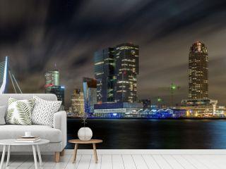 Rotterdam nightsky