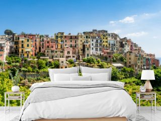 Malerisches Dorf von Corniglia, Cinque Terre, Italien
