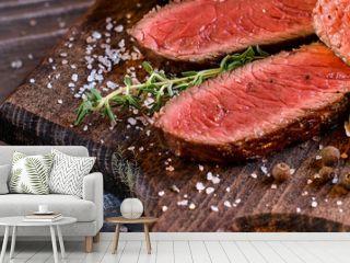 Beautiful background for the menu - steak.