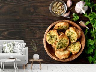 Garlic cheese toasts