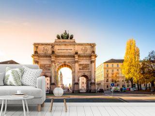 München, Siegestor, Triumphbogen,