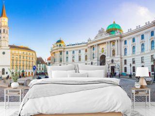 Royal Palace of Hofburg in Vienna, Austria