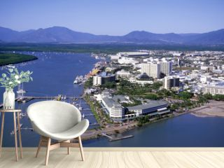 Aerial view of Cairns North Queensland.  australia