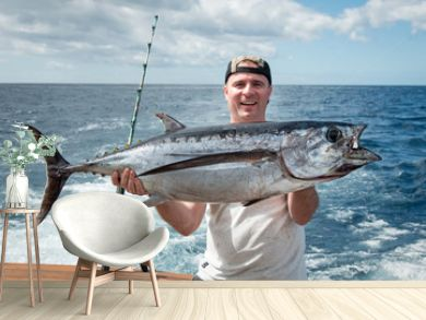 Tuna fishing trophy
