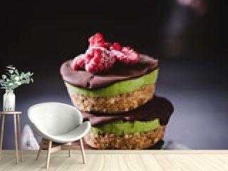 Veganes Avocado-Schokoladen Tartlette